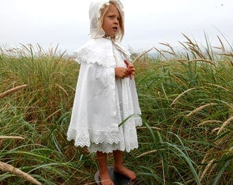 Victorian Child's Christening Cape Special Occasion Cape