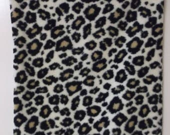 Animal Print Fleece Pillow #4060