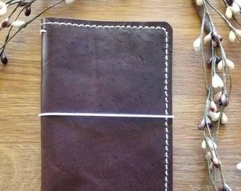 RUSTIC MAHOGANY BohoDori Traveler's Notebook, B6 Leather Planner Journal