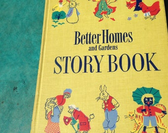 1950 First Edition Better Homes & Gardens Story Book Children's Literature Free Shipping