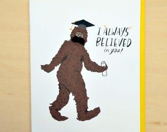 Big Foot Graduation
