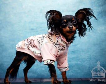 S-M Dog hoodie / Small dog hoodie / Dog shirt / Toy dog hoodie / Disney hoodie