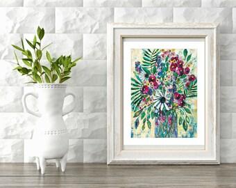 "Giclee Print - ""Enjoy the Journey""  - Original Artwork"