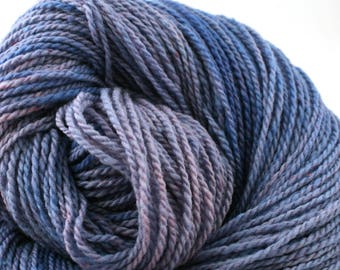 Mohonk Hand Dyed sport weight NYS Wool 370 yds 4oz Delphinium