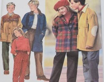 Vintage 1992 Simplicity Pattern 7997 Kids 7-10