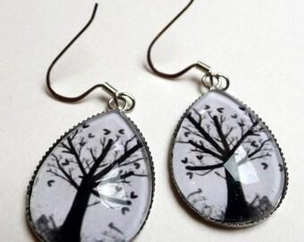 The tree of hearts BO206, drop earrings