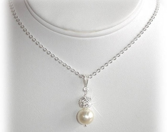 ON SALE 20% OFF Bliss Pearl Pendant Necklace