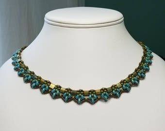 Pinnacle Lace Necklace
