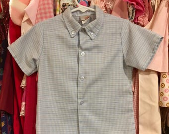 50s Boys Shirt 2/3T