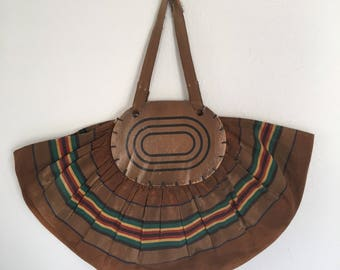 Vintage Beach Bag, Vintage Bonnie Beach Tote, Vintage Canvas Bag, c1938