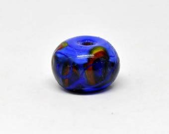 Blue viking bead