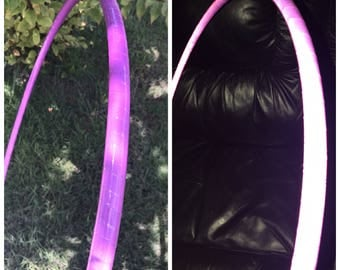 Purple Reflectice Polypro Hoop // Reflective Polypro With Clear Coat  // Choose Your Tubing & Diameter!