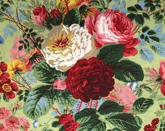 2 yards  Grandi-Floral in natural by Kaffe Fassett