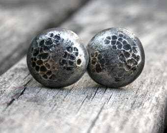 Cufflinks - Cuff Links - Full Moon