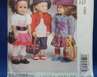 McCall's Crafts M6764 sewing pattern, 18 inch doll clothes