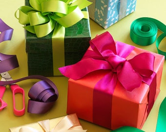 Gift Wrapping, additional happiness, ad-on with shop item purchase