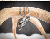 40% Off Eye of the Leader Necklace | Sterling Silver and Onyx Necklace