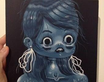 WEEPEEP - Original painting on deep edge canvas