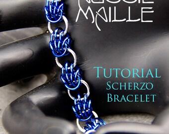 Chain Maille  Tutorial - Scherzo Bracelet