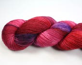 Party Shoes--hand dyed sock weight yarn, merino, nylon and stellina, (438yds/100gr)