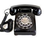 Classic Black Western Electric Model 500 Phone - 1967 Telephone