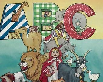 Picture Book A B C by Platt & Munk