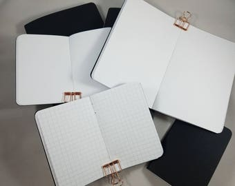 Fountain Pen Friendly Paper TN Insert Traveler's Notebook Insert; Dot Grid, Graph, Lined or Blank; Many Different Sizes!