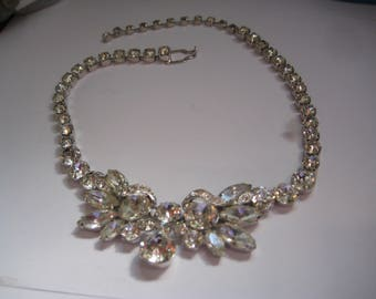 EISENBERG ICE  Rhinestone Choker  from the 30s or 40s