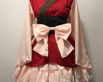 Yona Kimono Dress