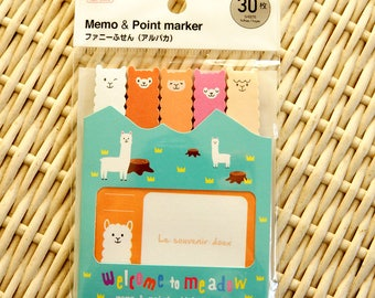 Kawaii Japanese Memo Point Marker - welcome to meadow
