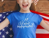 July 4th SVG | Lil Miss Independent | SVG 4th of July | USA svg Files | Independence Day | Patriotic svg Files | 4th of July
