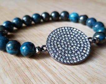 jasper bracelet, beaded bracelet for women, birthday gift for, mothers day gift mom gifts from daughter, stacking bracelet, boho jewelry