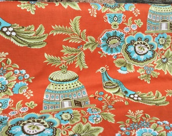 Amy Butler Belle ~ Royal Garden Clay Color ~ Free Spirit Fabrics, Slod Out and Out of Print Fabric