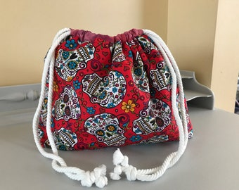 Skull Candy Medium Project Bag