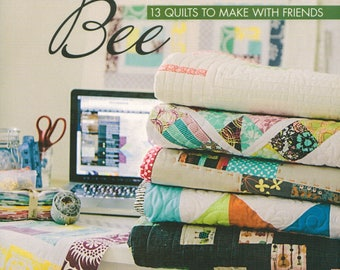 CLEARANCE BOOK! Modern Bee 13 Quilts to Make With Friends by Lindsay Conner - Stash Books