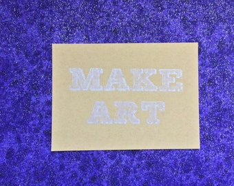 Make Art gocco print