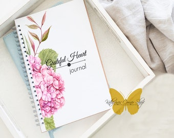 Grateful Heart Journal, Daily Gratitude Journal, Prayer Keeper, Prayer Journal, Prayer Notebook