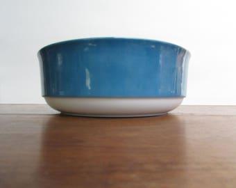 "Sango Aquarius Apollo Large 9"" Round Porcelain Vegetable Bowl"