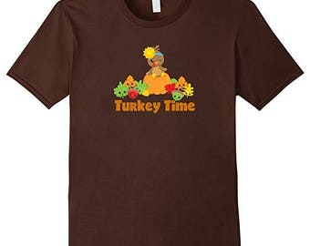 Turkey Time T-shirt - Perfect for Thanksgiving
