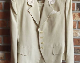 Vintage tailored suit from the 80's