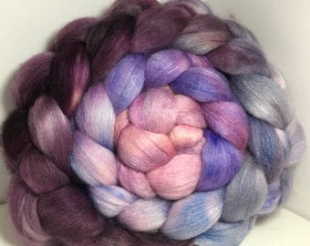 Polwarth/Bombyx/Cashmere 40/40/20 Roving Combed Top - 5oz - Lallybroch 2