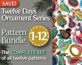 Twelve Days Series Complete 1-12 PDF Pattern Bundle: A discounted set of all twelve patterns