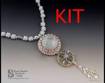 KIT- Vespers Beaded Necklace Pastel