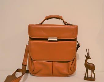 Hartmann Vintage First Generation Leather Brief Case