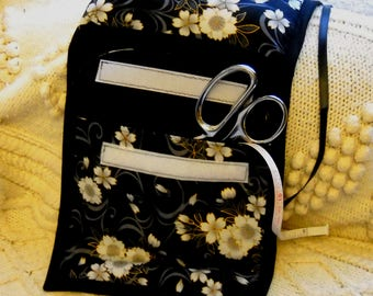 Floating Blossoms Sewing Caddy, Hand Sewing Organizer