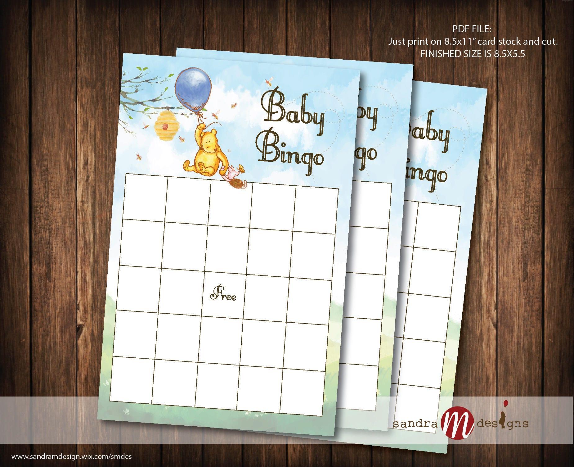 Tolle Baby Geschenk Bingo Vorlage Bilder - Entry Level Resume ...