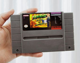 Zombies Bathed My Neighbors SNES Parody Soap, Energy Citrus Scented, Zombies Ate My Neighbors