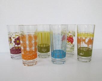 Lovely Turkish Drinking Glasses - Set of Six