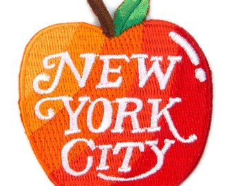 New York City Velcro Patch