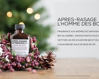 SOLDE /// Après-rasage naturel //  Natural vegan aftershave